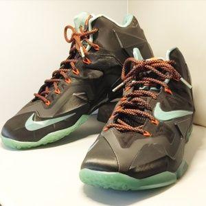 LeBron Nike 11 Jade Black Men's Shoes